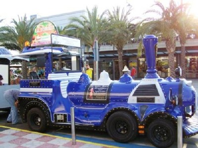 The Tourist Train at Gran Alicant