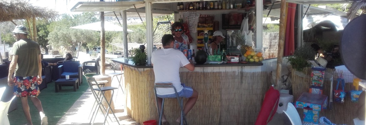 The closest beach bar